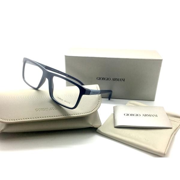 de5c9e3a662 Giorgio Armani Men Black Square New Eyeglasses AR 7069 5423 54 Plastic