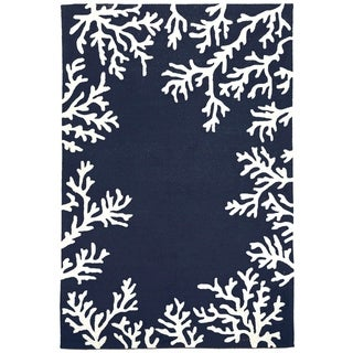 Sea Border Outdoor Rug (5' x 7'6) - 5' x 7'6
