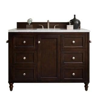 "Link to Copper Cove Encore 48"" Single Vanity, Burnished Mahogany Similar Items in Bathroom Vanities"