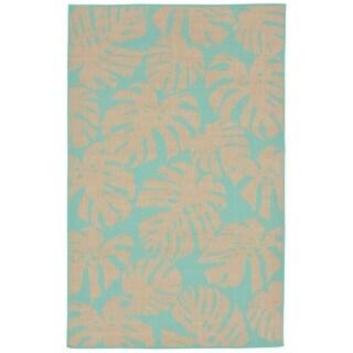 Liora Manne Tropics Outdoor Rug (4'10 x 7'6) - 4'10 x 7'6