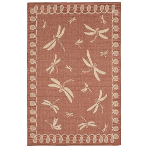 Liora Manne Meadow Outdoor Rug (4'10 x 7'6) - 4'10 x 7'6
