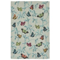 Resting Wings Outdoor Rug - 5' x 7'6