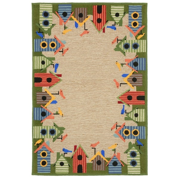Roosting Place Outdoor Rug (5' x 7'6) - 5' x 7'6