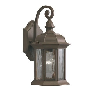 Aztec Lighting 1-light Olde Brick Outdoor Wall Lantern
