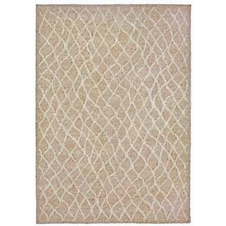 Wavey Lines Outdoor Rug (5' x 7'6) - 5' x 7'6