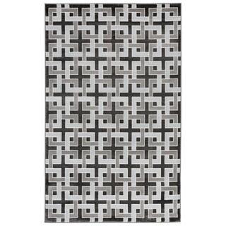 Liora Manne Square Maze Rug (4'10 x 7'6) - 4'10 x 7'6