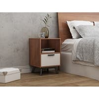 Westbrough 1 Drawer Nightstand - White