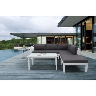 5 Piece Outdoor Sectional Sofa Set - LAVIN