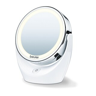 Beurer Illuminated 5x Magnifying Led Cosmetic Make Up Mirror With 360 Degree Rotation
