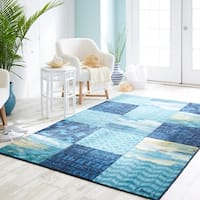 Mohawk Home Prismatic Beachscape Patchwork Area Rug - 8'x10'