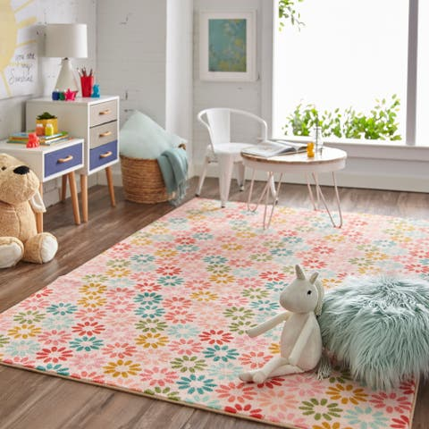Mohawk Home Prismatic Enchanted Floral Area Rug (5'x8') - 5' x 8'