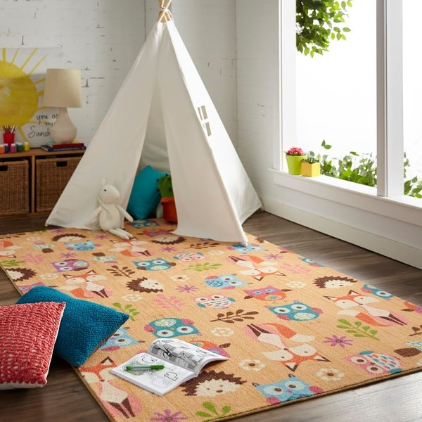 Mohawk Home Prismatic Animal Toss Area Rug (5'x8') - 5' x 8'