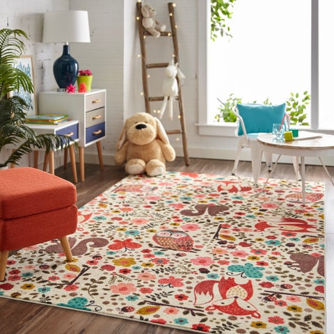 Mohawk Home Prismatic Enchanted Forest Area Rug (5'x8') - 5'X8'