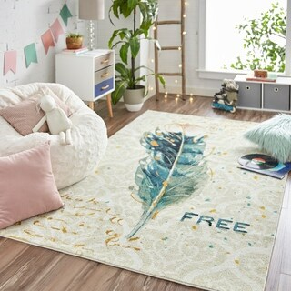 Mohawk Home Prismatic Free Feather Area Rug (8'x10') - 8'x10'