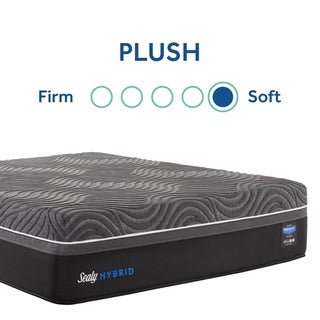 Sealy  Premium Silver Chill 14-inch Hybrid Cooling Mattress (King - Plush)