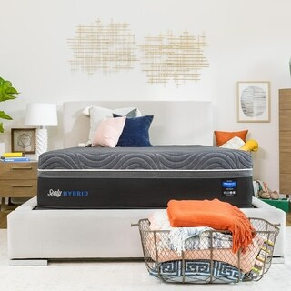 Link to Sealy Premium Silver Chill 14-inch Hybrid Cooling Mattress Similar Items in Mattresses