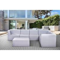 Outdoor Sling Mesh Sectional Sofa Set - CORBET