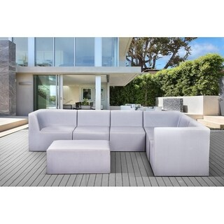 Outdoor Sling Mesh Sectional Sofa Set - CORBET