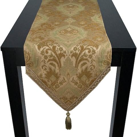 Sherry Kline Imperial 72-inch Luxury Table Runner - 12 x 72