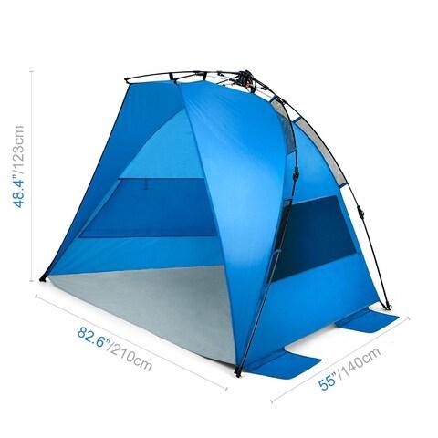 Sports Festival ® Easy Setup Instant Beach Tent Sun Shelter Canopy