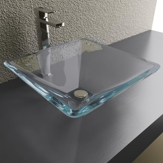 Pyramid Crystal Vessel Sink