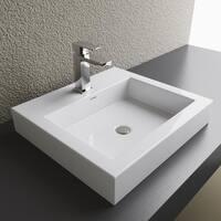Vitreous China Countertop Sink