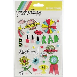 Good Vibes Puffy Stickers