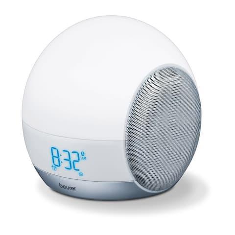 Beurer 4-in-1 Wake-up, Alarm Clock, Reading & Mood Lamp, Bluetooth, WL90