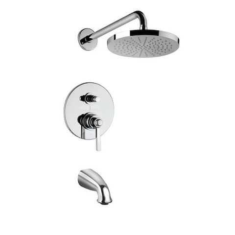 Handmade Pressure Balance Tub And Shower Set