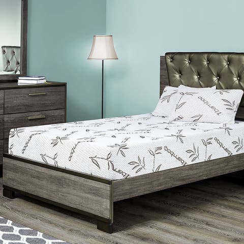 Customize Bed 10 Inch Gel Memory Foam Mattress with Bamboo Cover, FULL - CertiPUR-US Certified