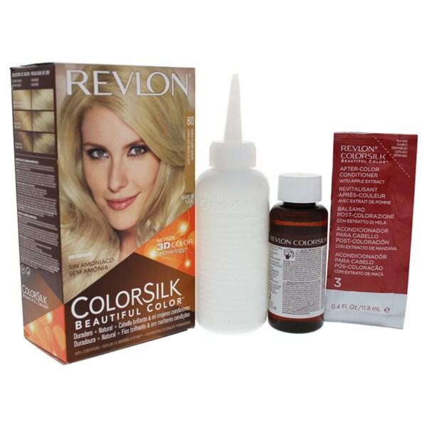 Shop Revlon Colorsilk Beautiful Color 80 Light Ash Blonde Free