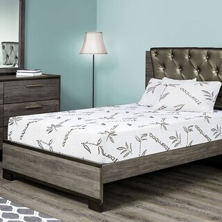 Customize Bed 10 Inch Gel Memory Foam Mattress with Bamboo Cover, QUEEN - CertiPUR-US Certified