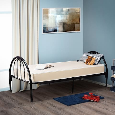 Fortnight Bedding 5 Inch Foam Mattress with Durable Fabric Cover 33x74 inch for RV, Cot, Folding Bed & Daybed -- MADE IN USA