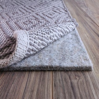 Link to FiberSoft Extra Thick 100-percent Felt Rug Pad for All Floors - Grey Similar Items in Rugs