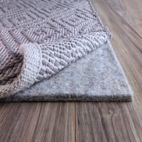 FiberSoft Extra Thick 100% Felt Rug Pad for All Floors - 8x10