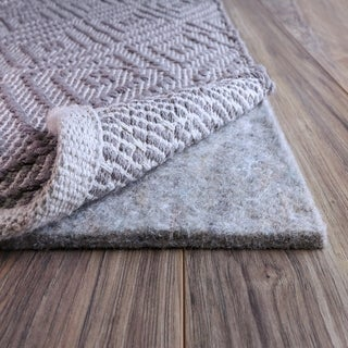 FiberSoft Extra Thick 100% Felt Rug Pad for All Floors - 10x14
