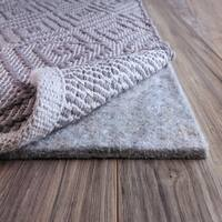 FiberSoft Extra Thick 100% Felt Rug Pad for All Floors - 5x8