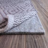 FiberSoft Extra Thick 100% Felt Rug Pad for All Floors - 12x15