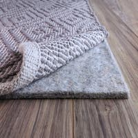 FiberSoft Extra Thick 100% Felt Rug Pad for All Floors - 8x11