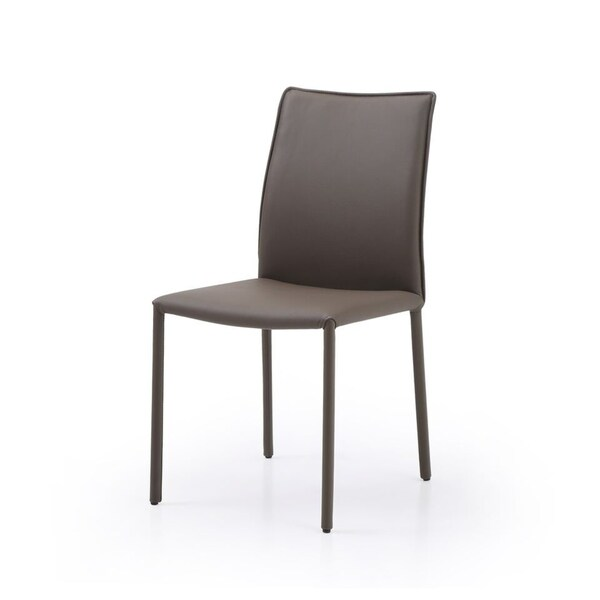 Shop Whiteline Imports Candance Dining Chair With Taupe