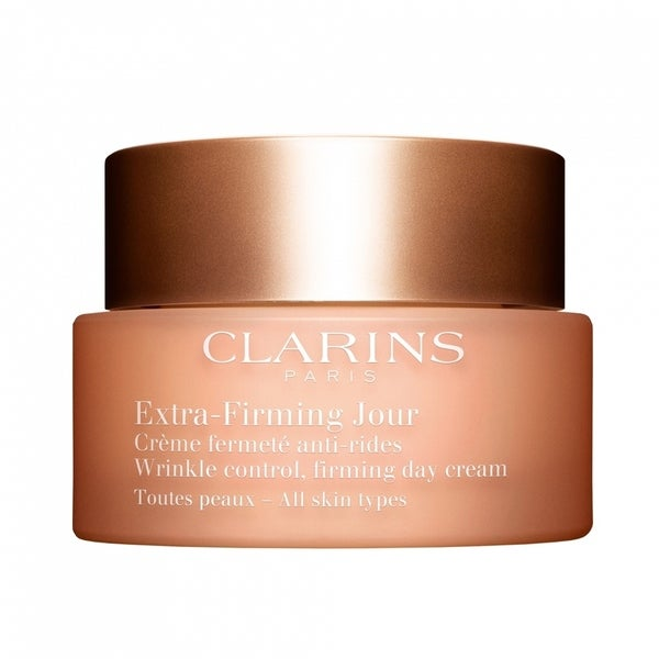 Clarins Extra Firming Jour Wrinkle control, firming day rich Cream for All skin types 1.7oz/50ml Mambino Organics Natural Anti Aging Fresh Face Balancing Moisturizer - 2 Oz, 6 Pack