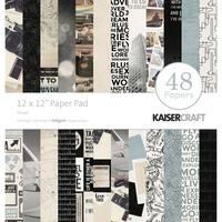 "Kaisercraft Paper Pad 12""X12"" 48/Pkg"