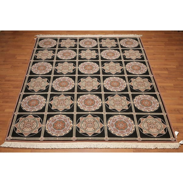 Shop Neo Classic Art Deco French Savonnarie Hand Knotted Area Rug