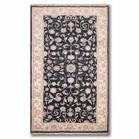Oushak Runner Hand-Knotted Oriental Area Rug - 5' x 10'