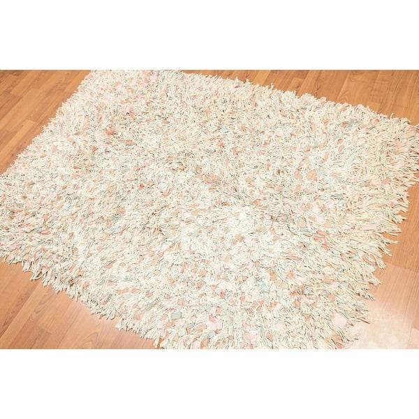 Boho Pastels Pure Cotton Area Rug