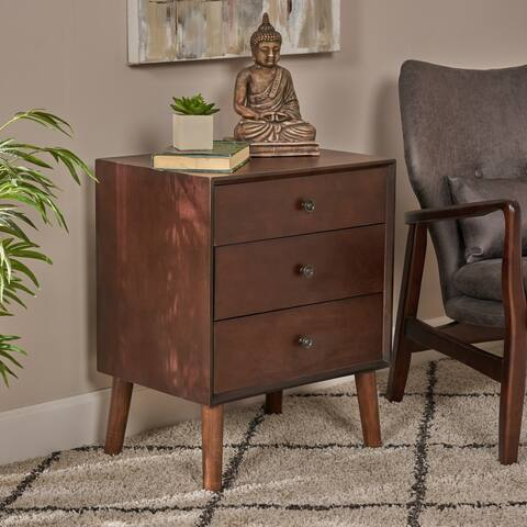 Moriah Mid Century Cabinet by Christopher Knight Home