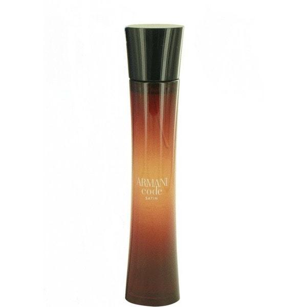 Shop Giorgio Armani Armani Code Satin Women s 2.5-ounce Eau de Parfum Spray  (Tester) - Free Shipping Today - Overstock.com - 21178542 242079e6f4364