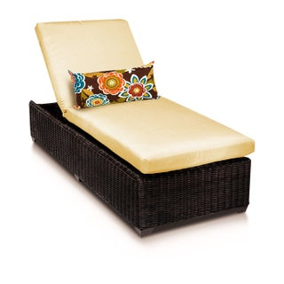 Calypso OH0714 Outdoor Patio Wicker Chaise Lounge