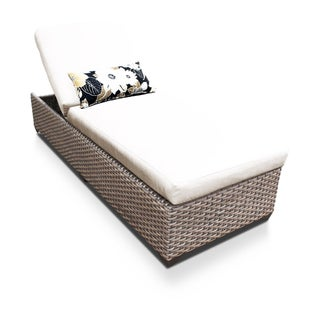 Sea Breeze OH0599 Outdoor Patio Wicker Chaise Lounge