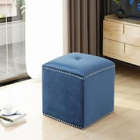 Brantly Glam Ottoman by Christopher Knight Home